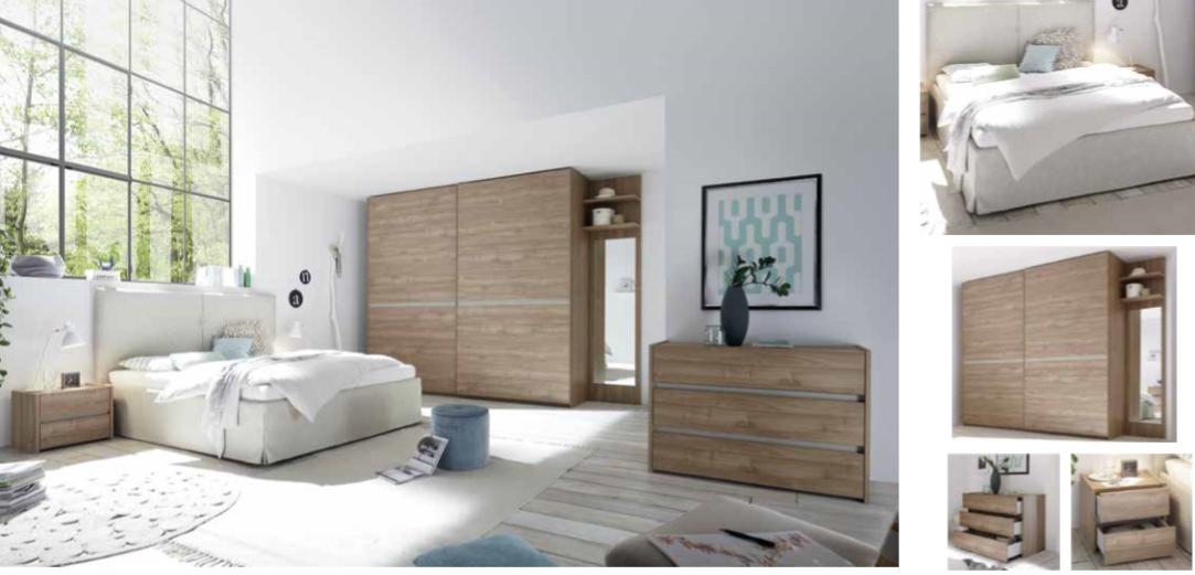 Camera da letto moderna/contemporanea - 8
