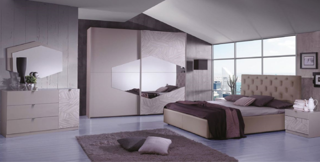 Camera da letto moderna/contemporanea - 3