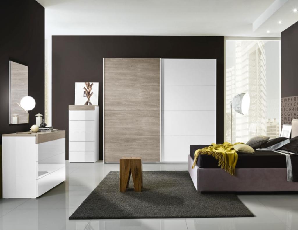 Camera da letto moderna/contemporanea - 12 | ORAXOSHOP
