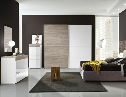 Camera da letto moderna/contemporanea - 12