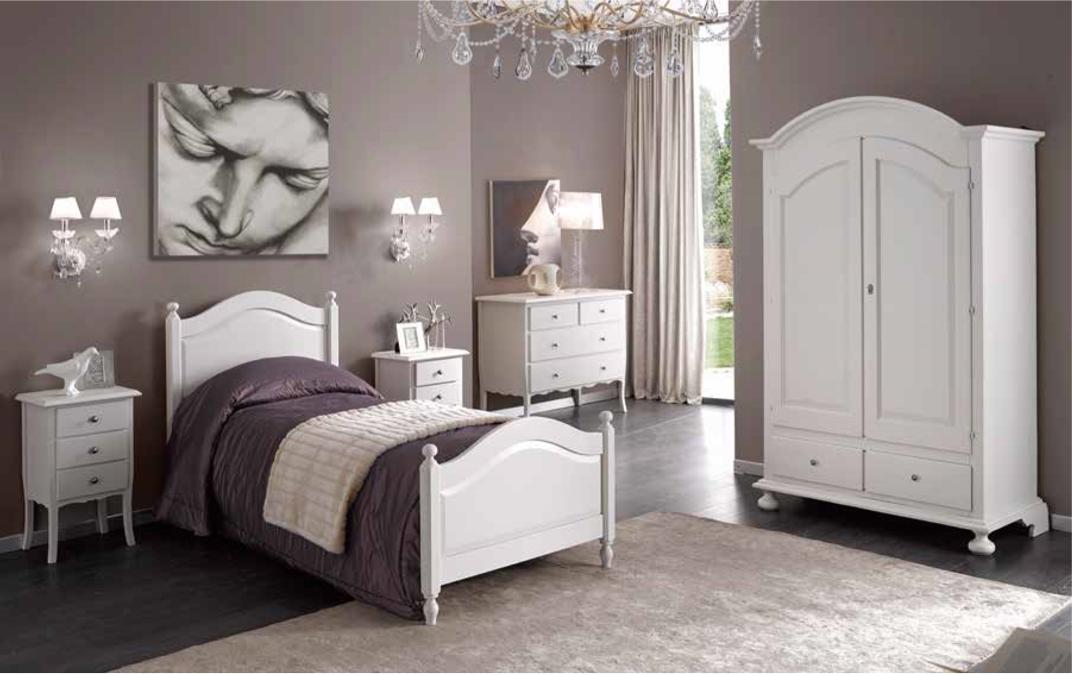 Camera da letto completa SINGOLA/MATRIMONIALE