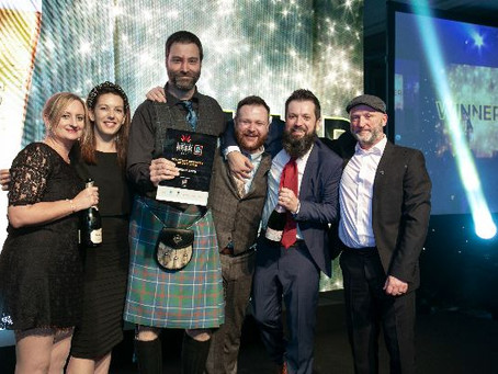 Fierce Beer awarded 'Scottish Brewery of the Year' at Scottish Beer Awards