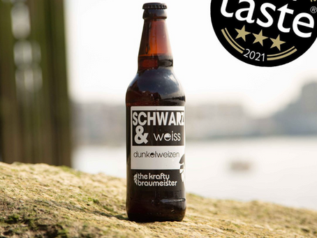 3-stars awarded to Schwarz & Weiss at the great taste awards