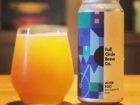 Brew Review: Alter Ego NEIPA from Full Circle Brew Co.