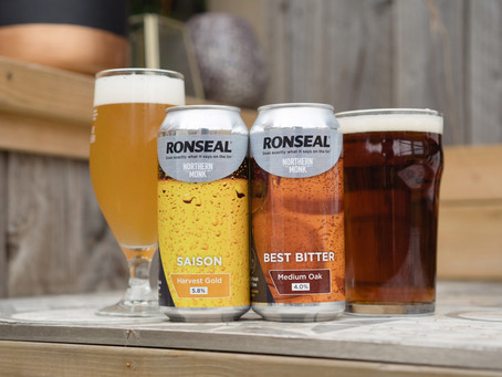 """Northern Monk & Ronseal create a beer that """"Does Exactly What It Says on the Tin"""""""