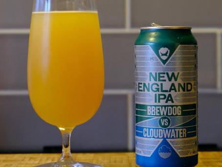 Brew Review: New England IPA by BrewDog vs Cloudwater