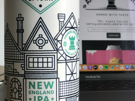 Brew Review: Uptown NEIPA by Arundel Brewery