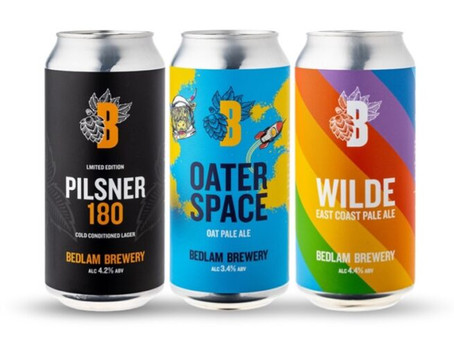 BEDLAM BREWERY INTRODUCES THREE NEW 440ML CANS