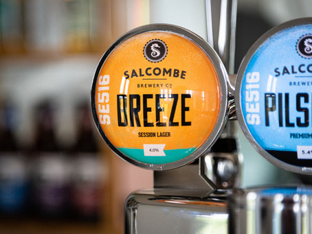 Salcombe Brewery co. launches new session lager, Breeze