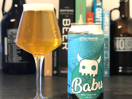 Brew Review: Babu West Coast IPA by Little Monster Brew Co.