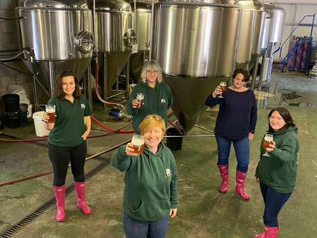 'Big Boots to Fill' Quantock Brewery celebrate International Woman's Day with new beer release