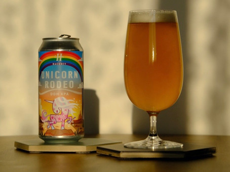 Brew Review: Unicorn Rodeo - Double-Dry-Hopped Extra Pale Ale by Hackney Brewery