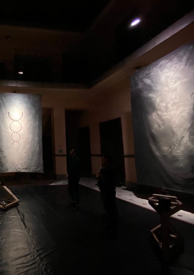 Vista de exhibición