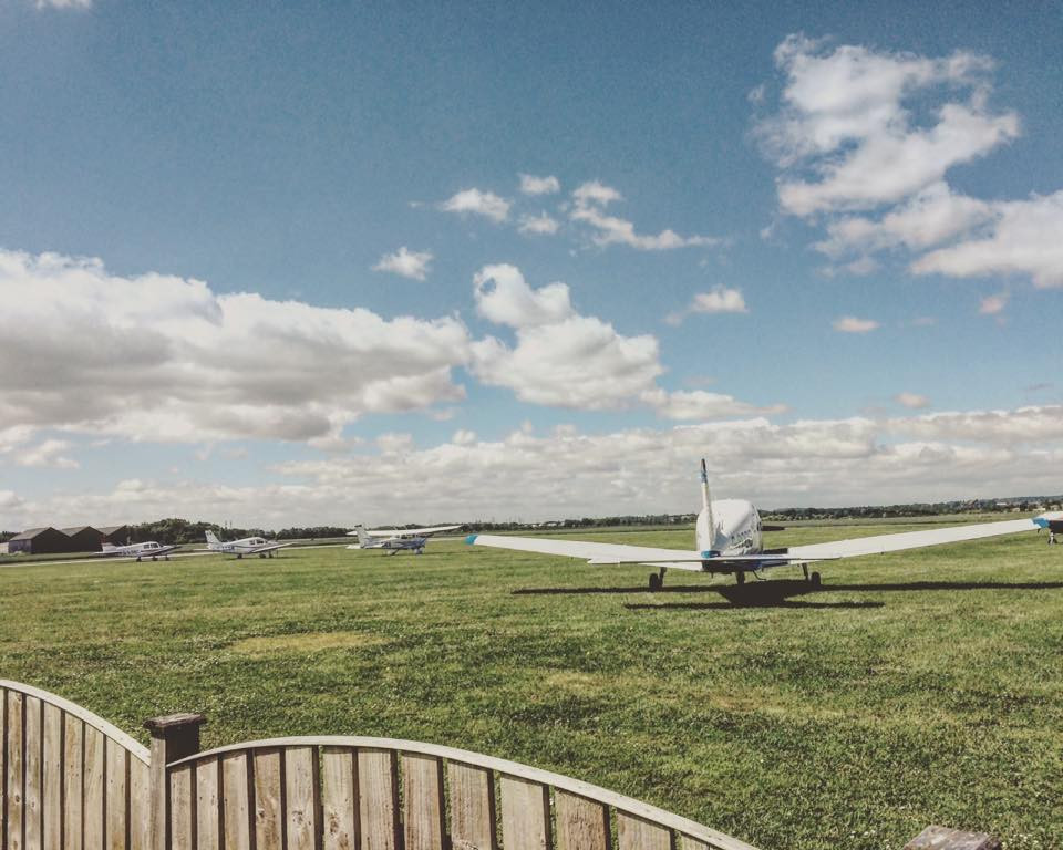 The Airfield in Summer