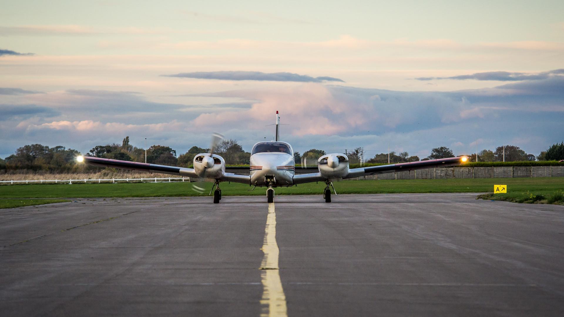 Seneca Twin Engine Aircraft