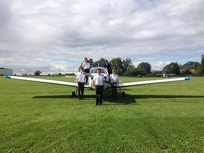 Advanced Flight Training Students