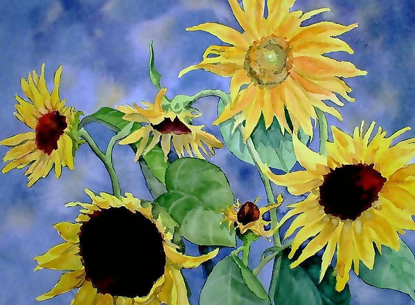 art My Sunflowers wc 125.jpg
