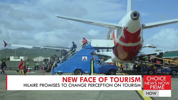 TOURISM MINISTER ERNEST HILAIRE PLEDGES TO CHANGE THE LOCAL PERCEPTION OF TOURISM.