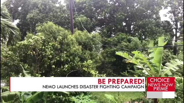 NEMO JOINS DISASTER FIGHTING CAMPAIGN.