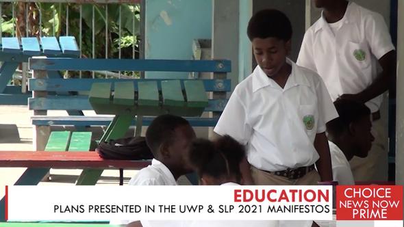EXPLORING THE UWP & SLP'S MANIFESTO PLANS IN EDUCATION.