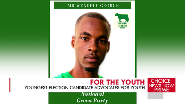 THE YOUNGEST ELECTION CANDIDATE LENDS HIS VOICE TO YOUTH ADVOCACY.