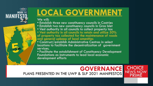 EXPLORING THE SLP AND UWP'S MANIFESTO PLANS IN  GOVERNANCE.
