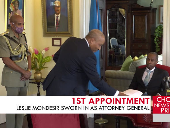 NEWLY ELECTED PRIME MINISTER MAKES HIS FIRST APPOINTMENTS