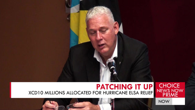 THE GOVERNMENT OF SAINT LUCIA BREAKS DOWN THE MONEY NEEDED FOR ELSA RELIEF.