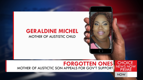 THE MOTHER OF AN AUTISTIC SON IS CALLING ON THE GOVERNMENT TO STEP UP AND PROVIDE SUPPORT.