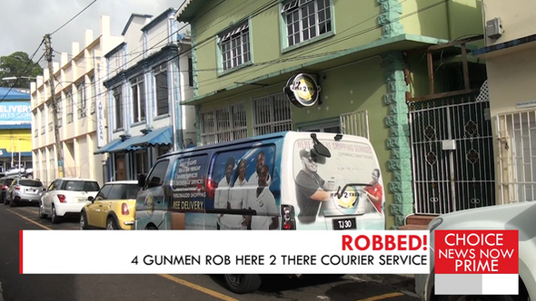 GUNMEN ESCAPE WITH $15,000 AND OTHER VALUABLES FOLLOWING AN  AFTERNOON ROBBERY