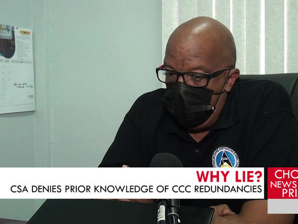 THE CSA DENIES HAVING ANY PRIOR KNOWLEDGE OF AN INTENTION TO DISMISS SOME CCC WORKERS.