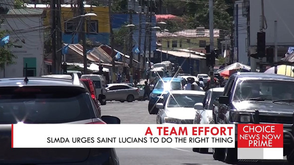 THE SLMDA CALLS ON SAINT LUCIANS TO ACT RESPONSIBLY FOLLOWING AN INCREASE IN COVID-19 CASES.