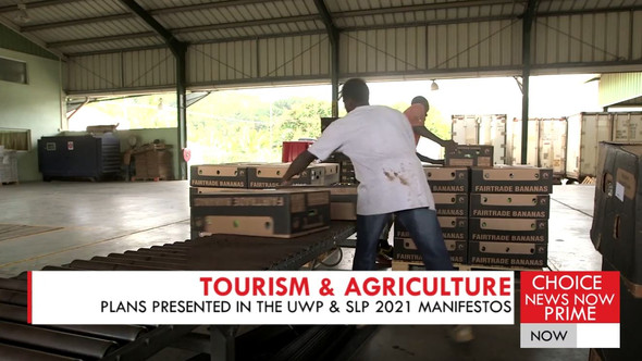 EXPLORING THE SLP AND UWP'S MANIFESTO PLANS IN TOURISM & AGRICULTURE.