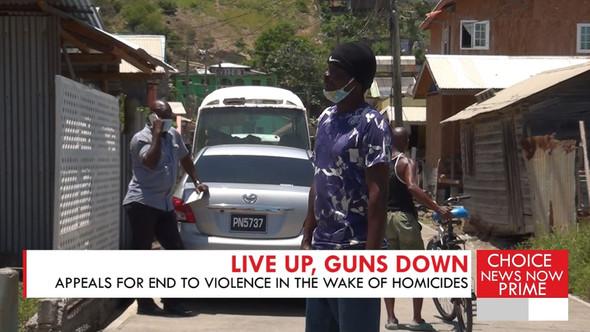 LIVE UP, GUNS DOWN