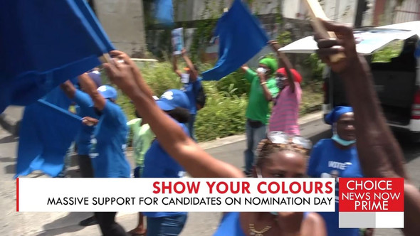 NOMINATION DAY PROVES TO BE A HUGE CELEBRATION ALL ACROSS THE ISLAND.