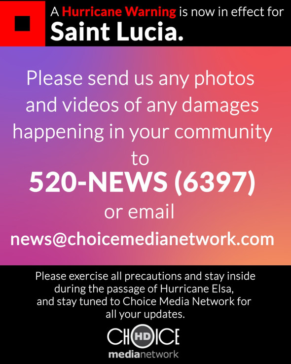 SEND US ANY FOOTAGE OF DAMAGES HAPPENING IN OR AROUND YOUR AREA.