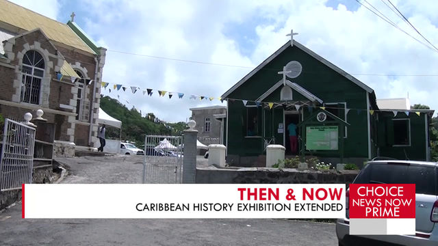 CARIBBEAN TIES EXHIBITION EXTENDED FOR ONE WEEK.