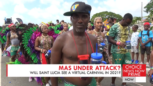 WILL SAINT LUCIANS JUMP CARNIVAL 2021 FROM THE COMFORT OF THEIR LIVING ROOMS?