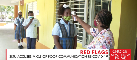 THE SAINT LUCIA TEACHERS' UNION ACCUSES THE MINISTRY OF EDUCATION OF POOR COMMUNICATION