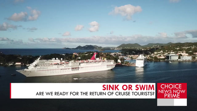 QUESTIONS PERTAINING TO THE TOURISM INDUSTRY ARISE AMIDST CRUISE SHIP SEASON.