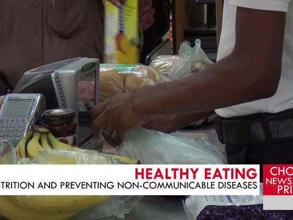 MOH ENCOURAGES  SAINT LUCIANS TO PAY ATTENTION TO THEIR DIETS.