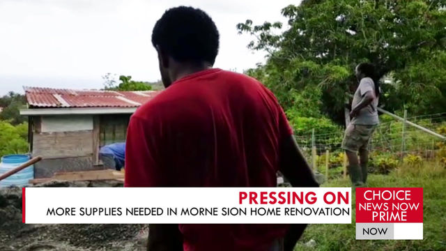 THERE IS STILL A NEED FOR SUPPLIES FOR CHOISEUL FAMILY.