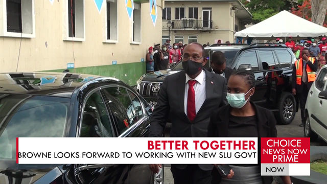 REGIONAL MINISTER COMMENTS ON SAINT LUCIA'S 2021 ELECTION OUTCOME.