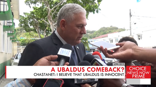 THE PRIME MINISTER SAYS HE BELIEVES UBALDUS RAYMOND IS INNOCENT. BUT OF WHAT?