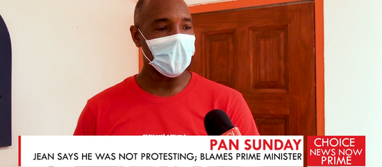 JEAN MAINTAINS HE DID NOT CROSS THE LINE BY BANGING KITCHENWARE OUTSIDE THE PM'S RESIDENCE