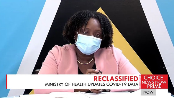 MINISTRY OF HEALTH EXPLAINS THE DIFFERENCE BETWEEN A COVID DETH AND A COVID RELATED DEATH.