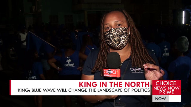 INDEPENDENT MP STEPHENSON KING SAYS THE BLUE WAVE WILL CHANGE THE LANDSCAPE OF LOCAL POLITICS.