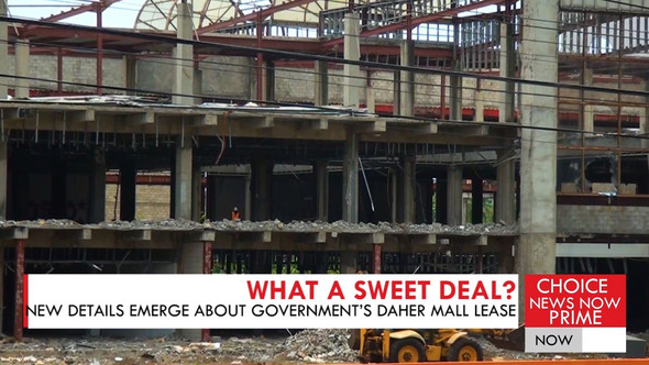 DOCUMENTS RELATING TO THE DAHER MALL LEASE APPEAR TO CONTRADICT THE PRIME MINISTER'S STATEMENTS
