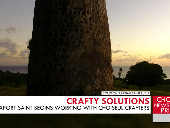 EXPORT SAINT LUCIA PARTNERS WITH LOCAL CRAFTERS TO EXPAND THEIR MARKETS