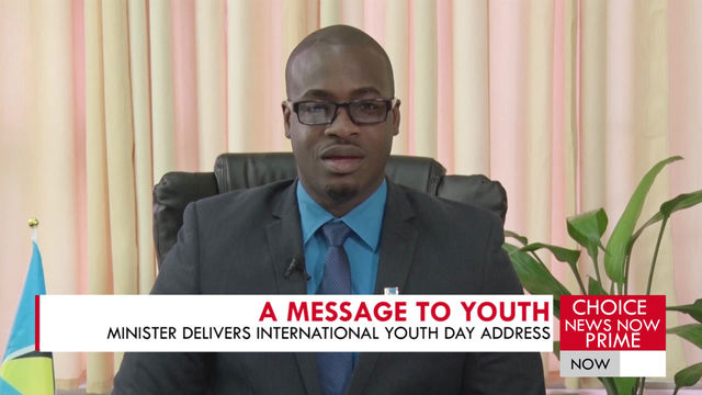CASIMIR SHARES A MESSAGE ON INTERNATIONAL YOUTH DAY.